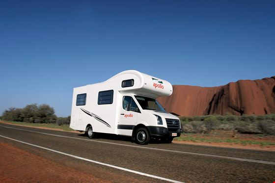 Apollo Euro Slider 4 Berth - Camper Rental Sydney - Campervan Rental Shop