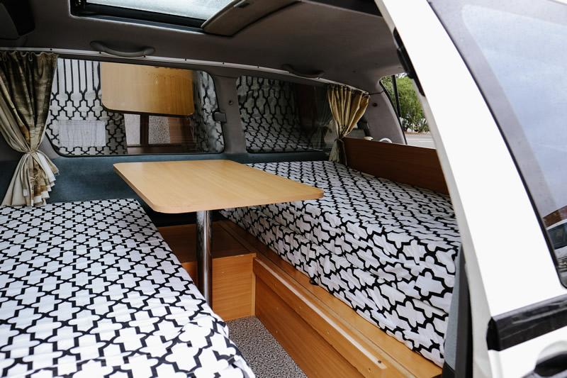 Awesome Camper Deluxe Bed - RV Rental Byron-Bay - Campervan Rental Shop