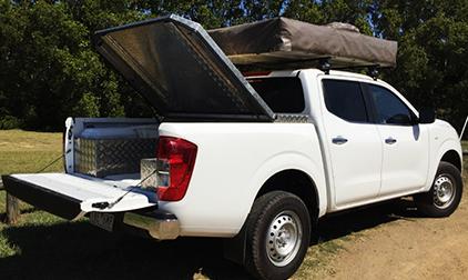 CV Grip 4WD Camper 5 Berth Back - RV Hire Sydney - Campervan Rental Shop