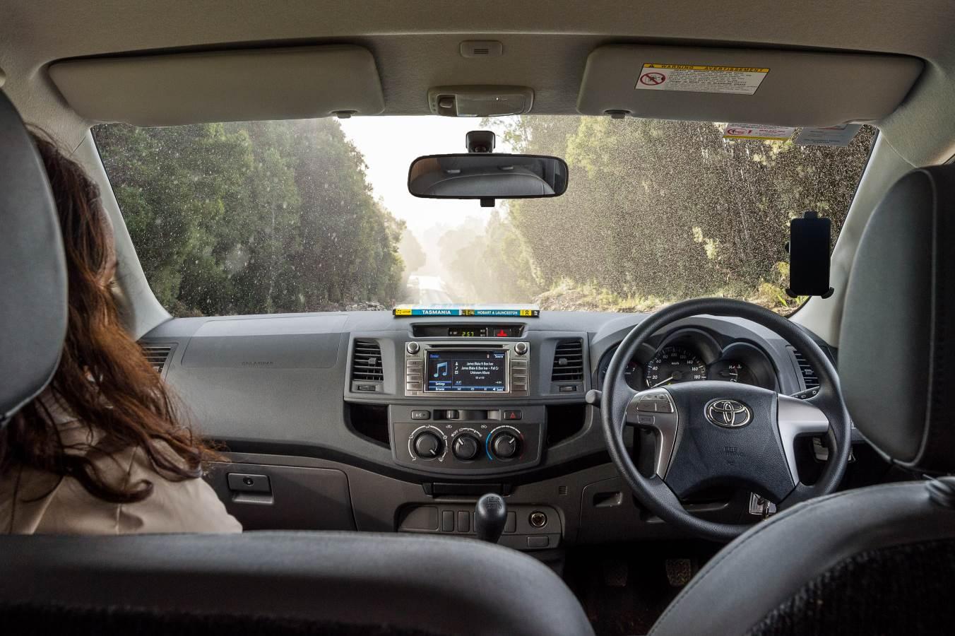 Cruisin Adventure Steering Wheel - RV Rental Canberra - Campervan Rental Shop