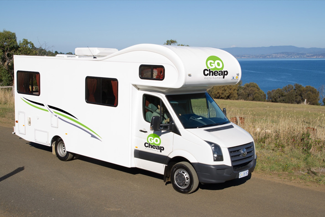 Go Cheap Derwent 6 Berth - RV Rental Sydney - Campervan Rental Shop