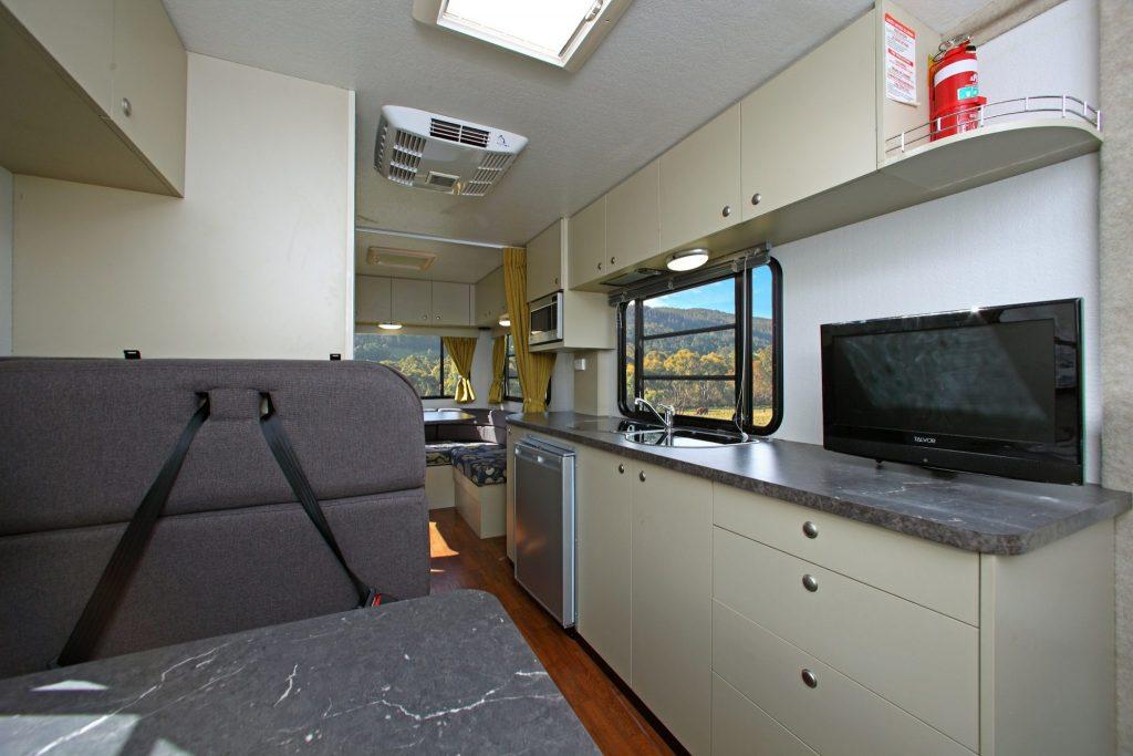 Go Cheap Derwent Interior 1 - Camper Hire Newcastle - Campervan Rental Shop