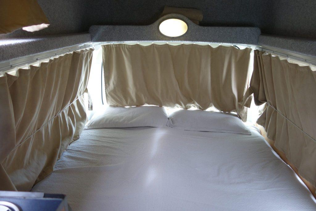 GoCheap Campervan Bedroom Design - Camper Hire Sydney - Campervan Rental Shop