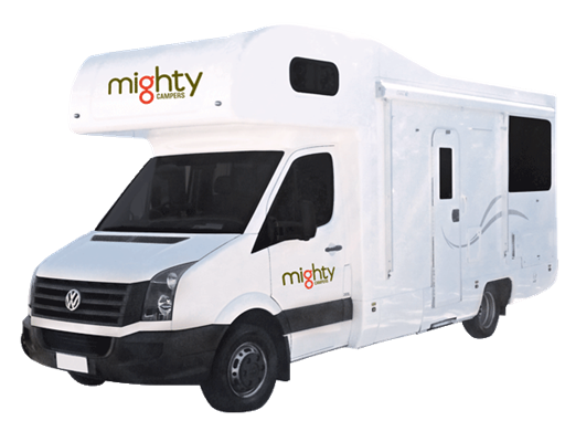 Mighty Double Up 4 Berth - Camper Rental Sydney - Campervan Rental Shop