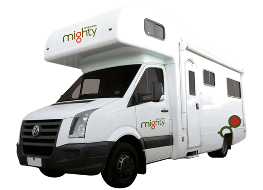 Mighty Big Six 6 Berth - Camper Hire Newcastle - Campervan Rental Shop
