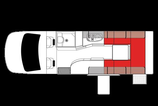 Mighty-Deuce Inside Prototype Design - Camper Hire Sydney - Campervan Rental Shop