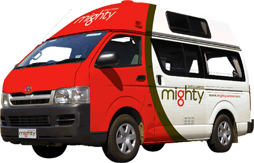 Mighty Jackpot 3 Berth - Camper Rental Sydney - Campervan Rental Shop
