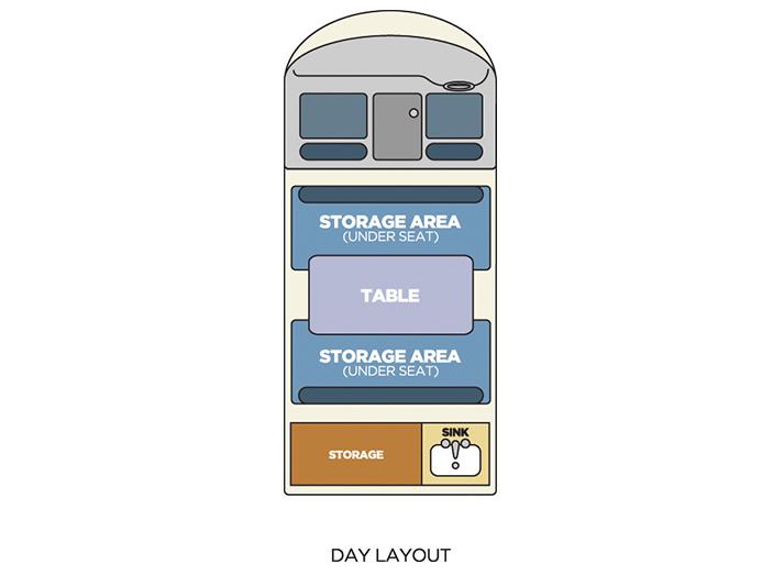 TA Budgie Camper - Hire Broome - Campervan Rental Shop