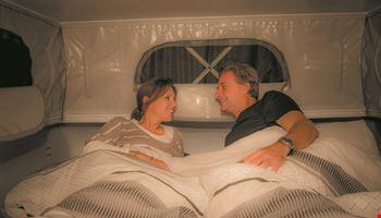 Couple Talking 1 - Campervan Rental Sydney - Campervan Rental Shop