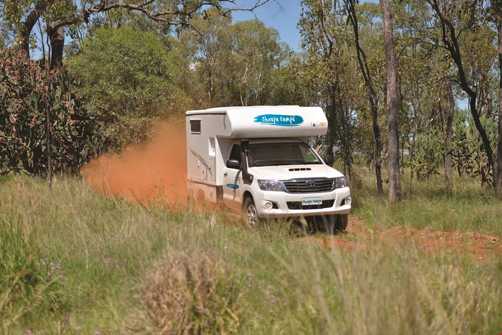 Cheapa 4WD Camper On The Road - RV Rental NZ - Campervan Rental Shop