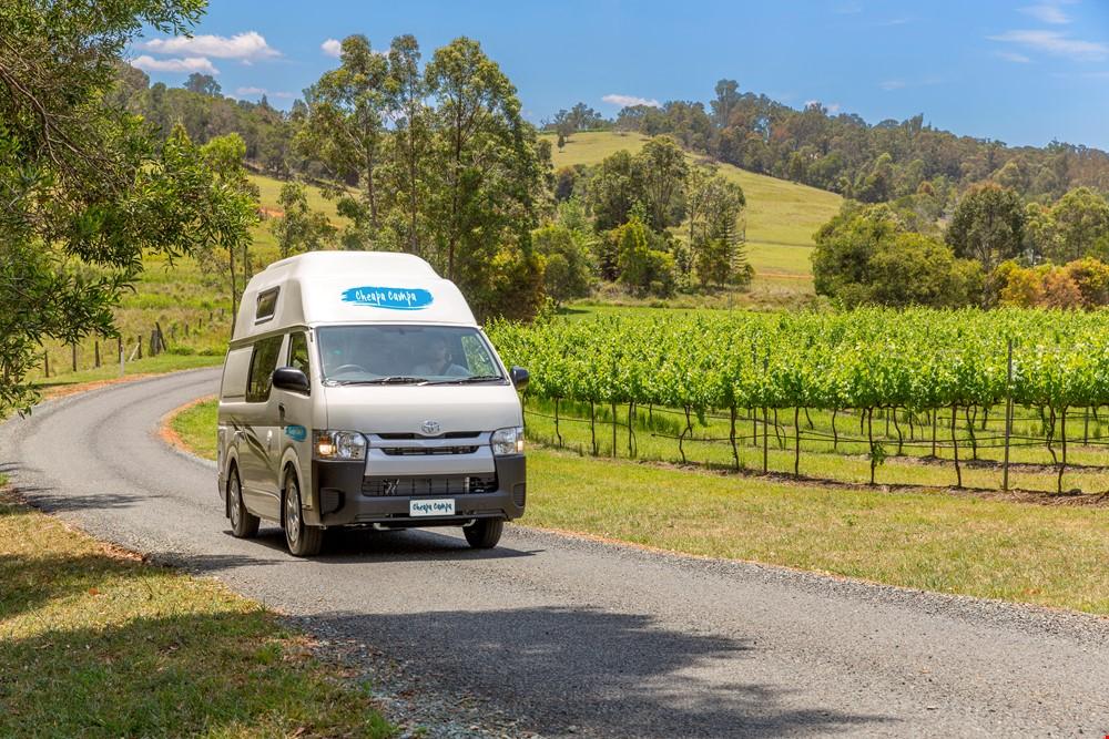 Cheapa Endevour On The Road - Camper Rental Adelaide - Campervan Rental Shop