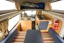 Hippie Campervan Interior - Camper Rental Byron-Bay - Campervan Rental Shop