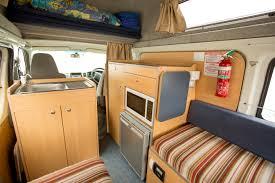 Hippie Interior - RV Rental Canberra - Campervan Rental Shop