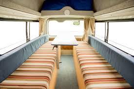 Hippie Seats Area - Camper Rental Sydney - Campervan Rental Shop