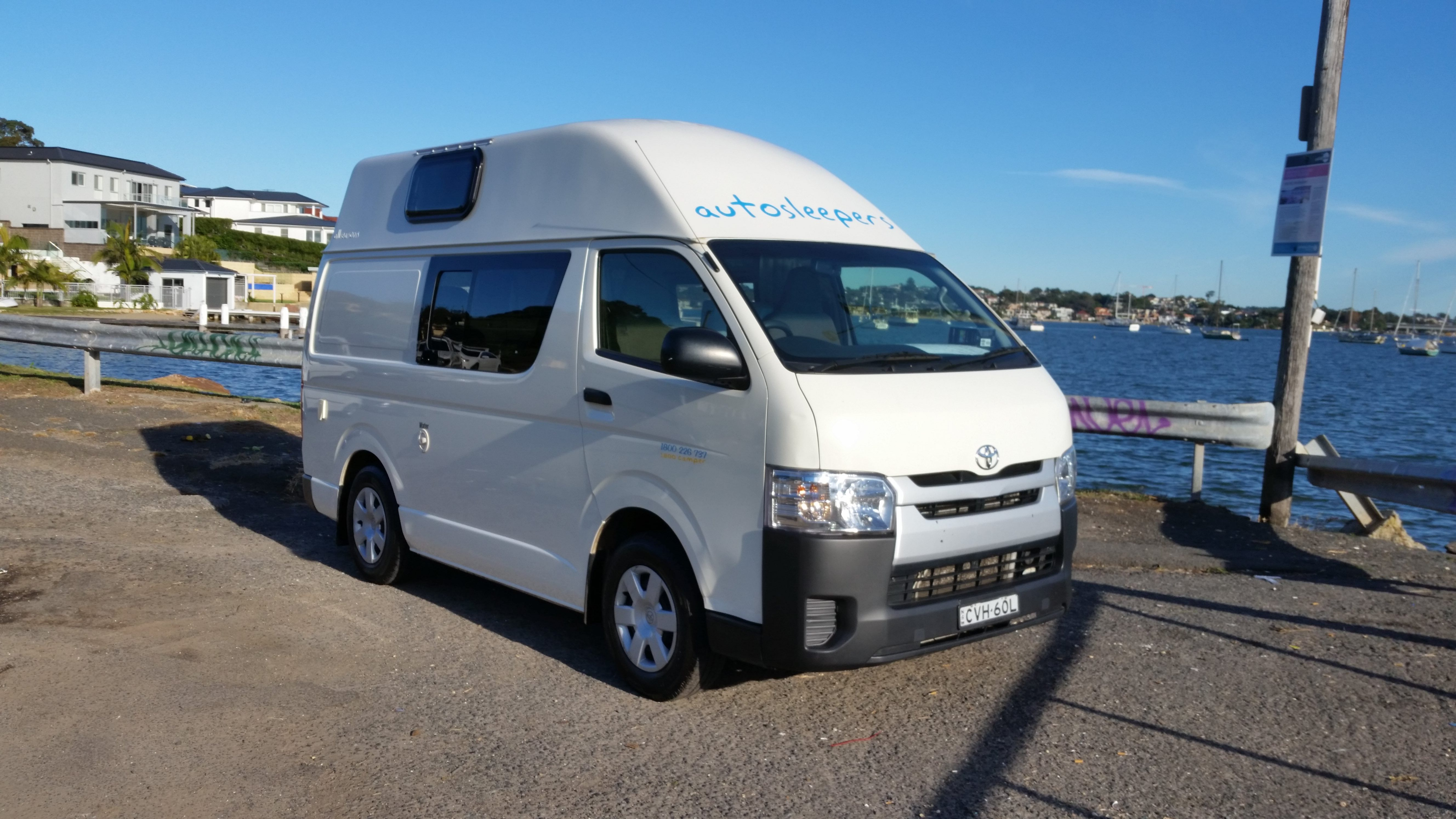 AS High-Top 4 Berth - Camper Rental Newcastle - Campervan Rental Shop