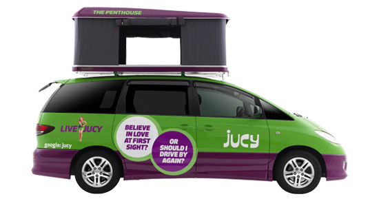 Jucy Champ - RV Hire Sydney - Campervan Rental Shop