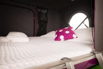 Jucy Champ Bed Space - Camper Hire Sydney - Campervan Rental Shop
