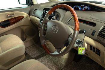 Jucy Champ Steering Wheel- RV Hire Broome - Campervan Rental Shop