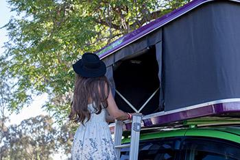 Girl with a Hat - Motorhome Rental Canberra - Campervan Rental Shop