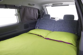 Jucy Crib Bed Area - Motorhome Rental Canberra - Campervan Rental Shop