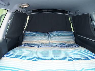 LY Rookie Bed - Campervan Hire Newcastle - Campervan Rental Shop