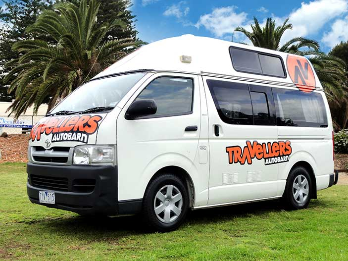 TA Hi-Top Camper 3 Berth - Camper Rental Newcastle - Campervan Rental Shop