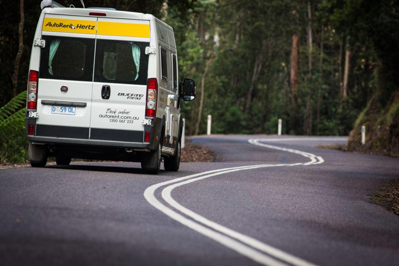 Hertz 2 Berth On The Road - Motorhome Hire Broome - Campervan Rental Shop