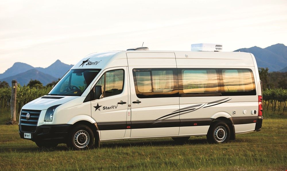 Star RV Aquila 2 Berth - Motorhome Hire Sydney - Campervan Rental Shop