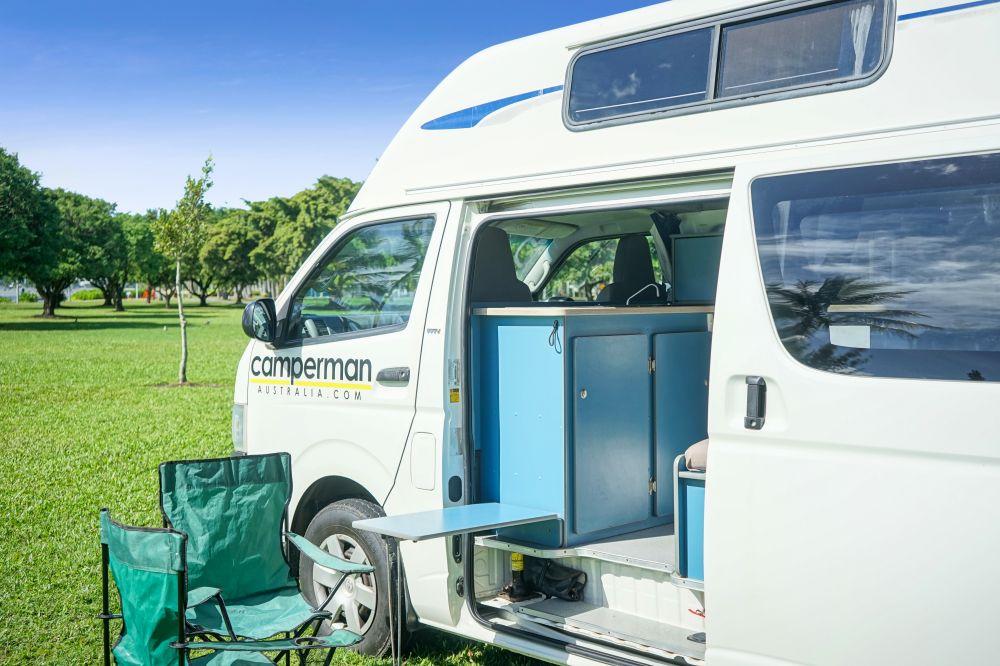 Camperman Maxie 1 - Campervan Hire Sydney - Campervan Rental Shop