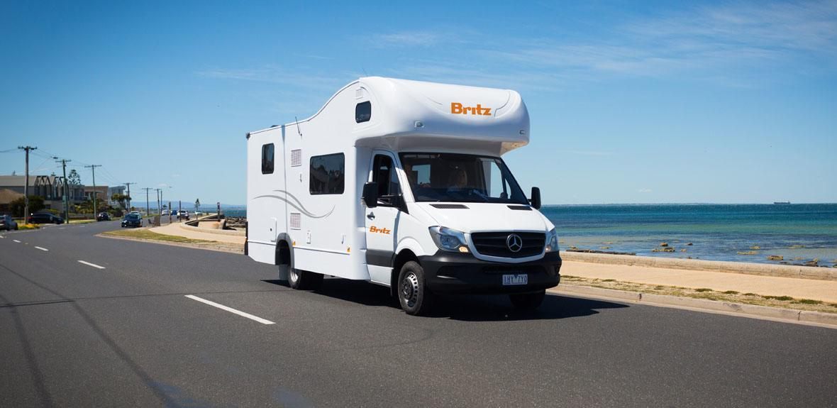 Britz Traveller 6 Berth - RV Rental Byron-Bay - Campervan Rental Shop