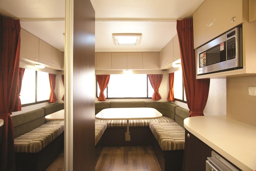 Star RV Hercules Interior - RV Rental Canberra - Campervan Rental Shop