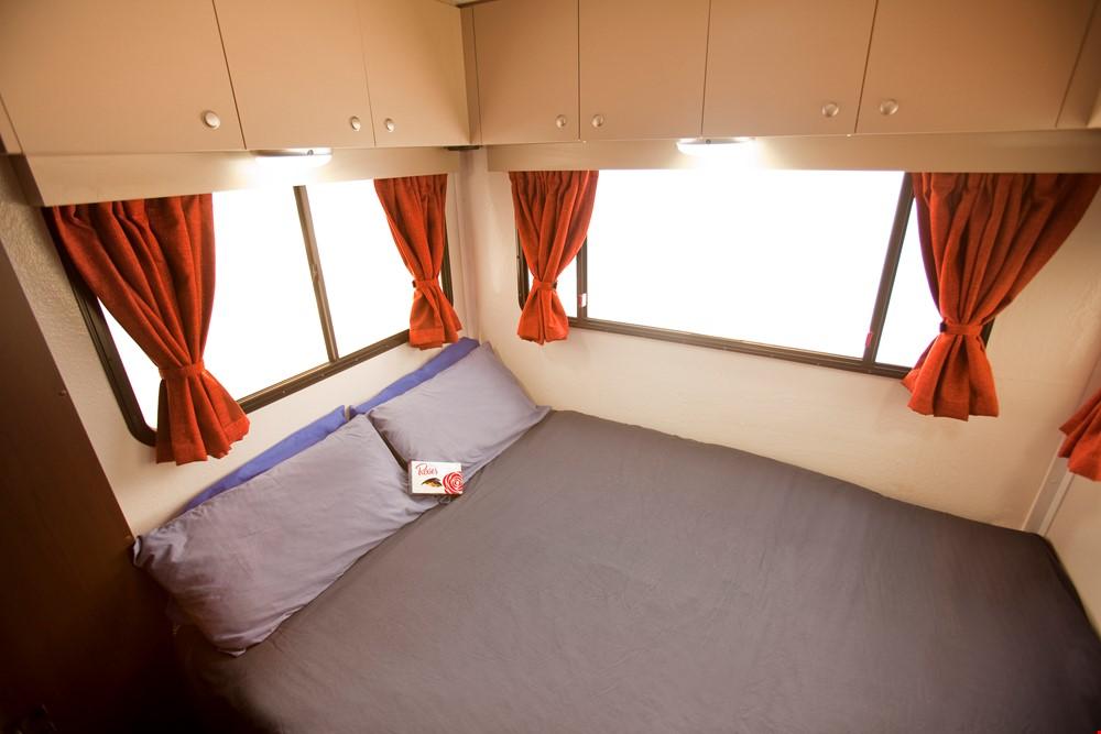 Star RV Hercules RV Internal - Swan Valley Campervan Hire - Campervan Rental Shop