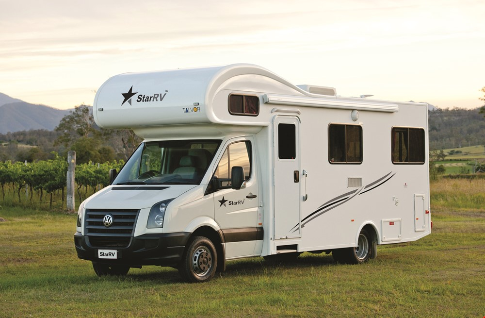 Star RV Hercules 6 Berth - Camper Rental Sydney - Campervan Rental Shop