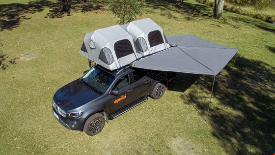 Apollo X-Terrain Top View - Camper Rental Launceston - Campervan Rental Shop