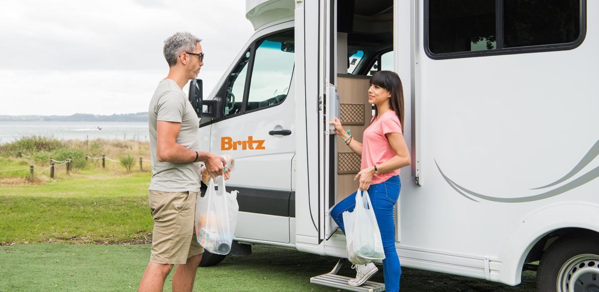 Britz Discovery 1 - Swan Valley Campervan Hire - Campervan Rental Shop