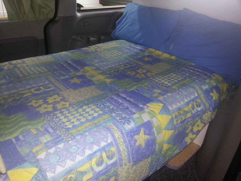 Hertz Camper Wagon Bed - Campervan Hire Adelaide - Campervan Rental Shop