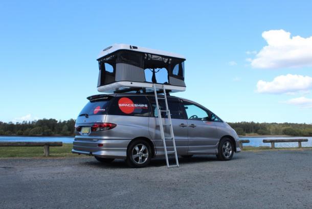 Spaceship Beta 3 - Campervan Hire Sydney - Campervan Rental Shop