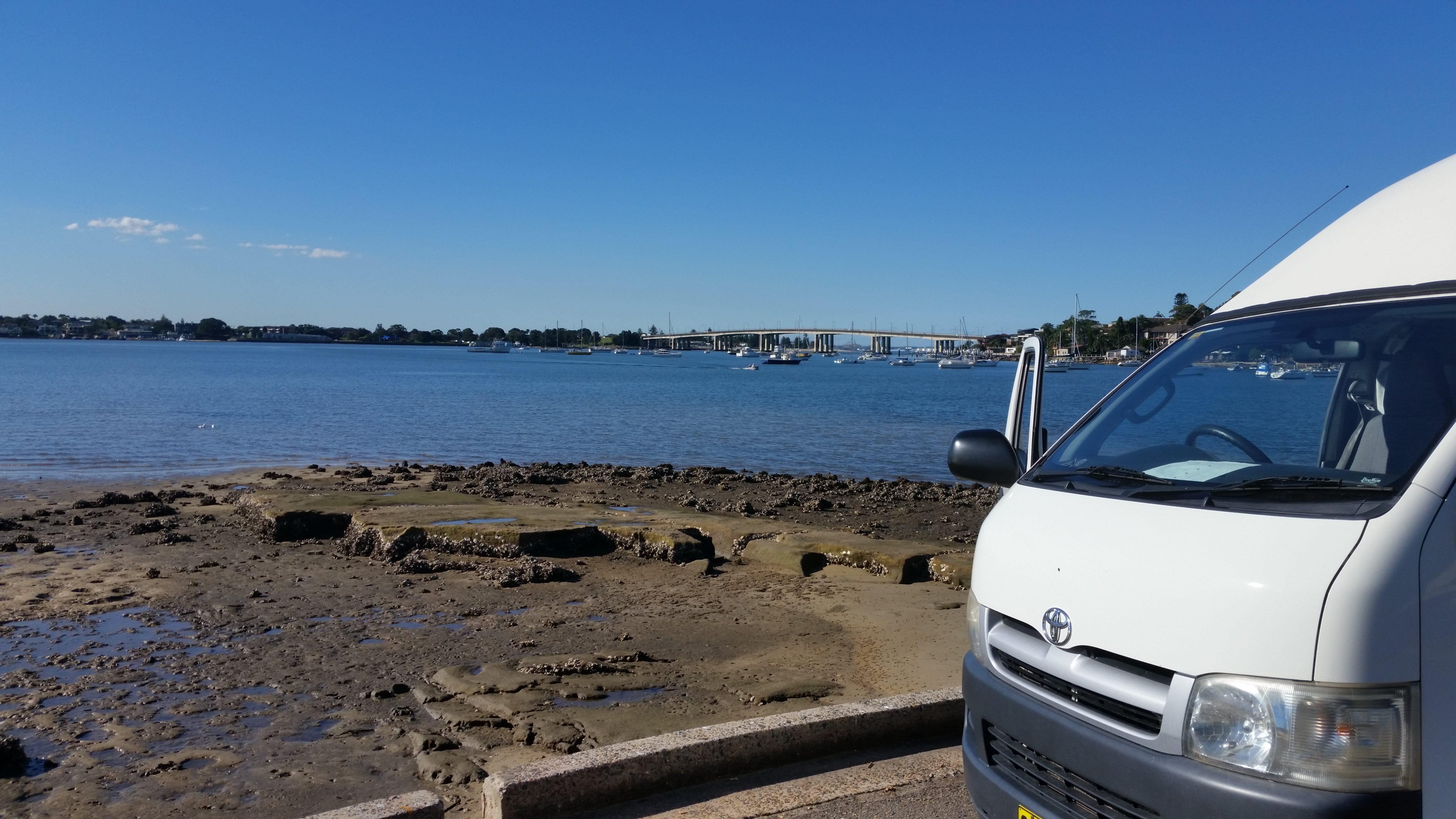 Hi-Top Overlooking the Sea 1 - Motorhome Rental Canberra - Campervan Rental Shop