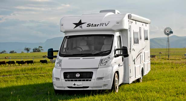 Star RV Pegasus 4 Berth - Rv Hire Newcastle - Campervan Rental Shop